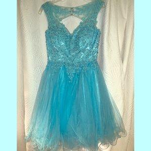 Dresses & Skirts - Let's Short Tulle Prom Dress